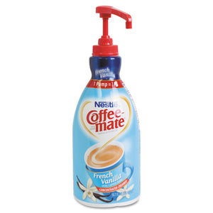 ESNES31803 - Liquid Coffee Creamer, French Vanilla, 1500ml Pump Bottle