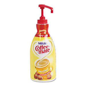 ESNES31831CT - Liquid Coffee Creamer, Hazelnut, 1.5 Liter Pump Bottle, 2-carton