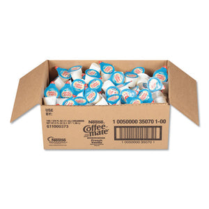ESNES35070 - Liquid Coffee Creamer, Mini Cups, French Vanilla, 180-box