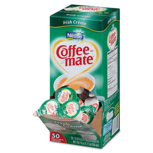 ESNES35112CT - Liquid Coffee Creamer, Irish Creme, 0.375 Oz Mini Cups, 50-box, 4 Box-carton