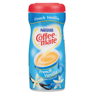 ESNES35775CT - Non-Dairy Powdered Creamer, French Vanilla, 15 Oz Canister, 12-carton