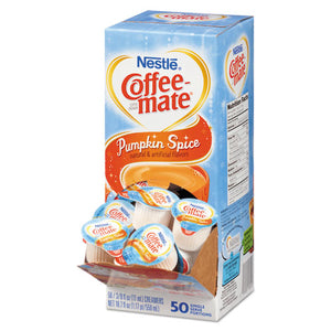 ESNES75520 - Liquid Coffee Creamer, Pumpkin Spice, 0.375 Oz Mini Cups, 50-box