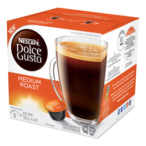 Coffee Capsules, Medium Roast, 12 Oz, Capsule, 3-carton