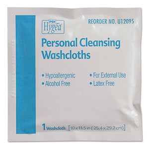 ESNICU12095 - Hygea Adult Wash Cloths, 10 X 11.5, 1-Ply, White, 400-carton