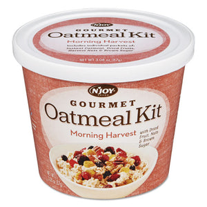 ESNJO1036601 - Gourmet Oatmeal Kit, Morning Harvest, 3.08 Oz Bowl, 8-Pk