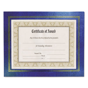 ESNUD21201 - Leatherette Document Frame, 8-1-2 X 11, Blue, Pack Of Two
