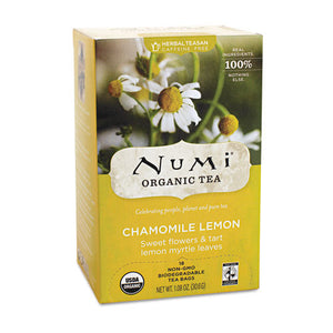ESNUM10150 - Organic Teas And Teasans, 1.8oz, Chamomile Lemon, 18-box