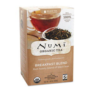 ESNUM10220 - Organic Teas And Teasans, 1.4oz, Breakfast Blend, 18-box