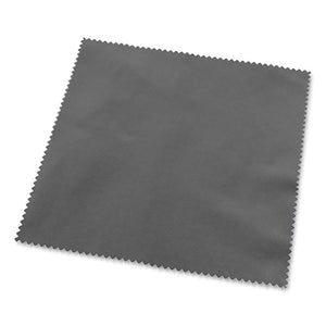 Microfiber Screen Cleaning Cloths, 6 X 5, Gray, 2-box