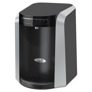 ESOAS506336C - AQUARIUS COUNTER TOP HOT N COLD WATER COOLER, 13 1-4 DIA. X 17 H, BLACK