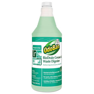 ESODO28062Q12 - Biodrain Grease And Waste Digester, Floral Scent, 32 Oz Bottle, 12-ct