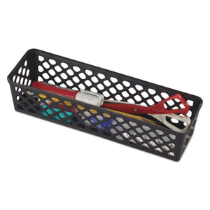 "ESOIC26200 - RECYCLED SUPPLY BASKET, 10.125"" X 3.0625"" X 2.375"", BLACK"