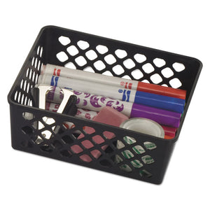 "ESOIC26201 - RECYCLED SUPPLY BASKET, 6.125"" X 5"" X 2.375"", BLACK"