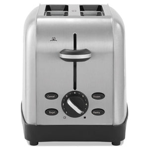 ESOSRRWF2S - Extra Wide Slot Toaster, 2-Slice, 8 X 12 7-8 X 8 1-2, Stainless Steel