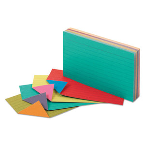 ESOXF04736 - Extreme Index Cards, 3 X 5, Vivid Assorted, 100-pack