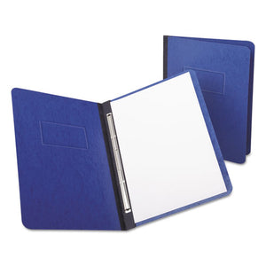 "ESOXF12702 - Pressguard Report Cover, Prong Clip, Letter, 3"" Capacity, Dark Blue"