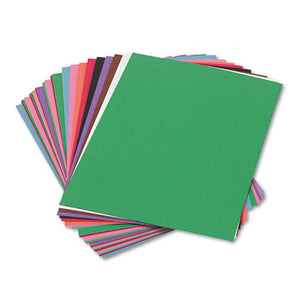 ESPAC6503 - Construction Paper, 58 Lbs., 9 X 12, Assorted, 50 Sheets-pack