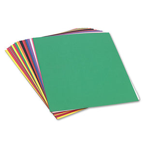 ESPAC6517 - Construction Paper, 58 Lbs., 18 X 24, Assorted, 50 Sheets-pack