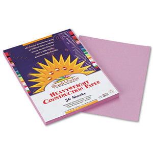 ESPAC7103 - Construction Paper, 58 Lbs., 9 X 12, Lilac, 50 Sheets-pack