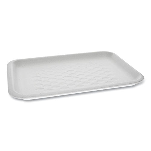 Supermarket Tray, #2s, 10.75 X 5.5 X 1.2, White, 500-carton