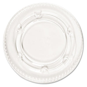 ESPCTYLS2FR - Crystal-Clear Portion Cup Lids, Fits 1.5-2.5oz Cups, 2400-carton
