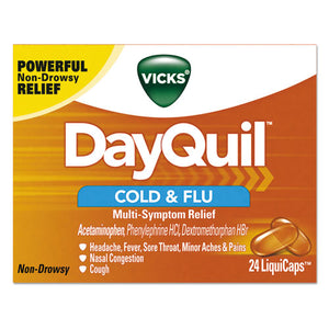 ESPGC01443 - Dayquil Cold & Flu Liquicaps, 24-box, 24 Box-carton