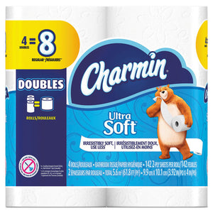 ESPGC13258 - Ultra Soft Bathroom Tissue, 2-Ply, 4 X 3.92, 142 Sheets-roll, 4 Rl-pk, 12 Pk-ct