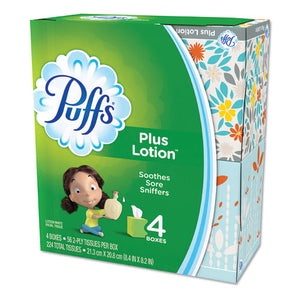 "ESPGC34899CT - Plus Lotion Facial Tissue, White, 1-Ply, 8 1-5"" X 8 2-5"", 56-box, 24-carton"