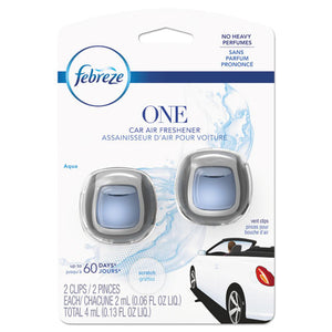 ESPGC74593 - CAR AIR FRESHENER, FRESH WATER, 2 ML CLIP, 8-CARTON