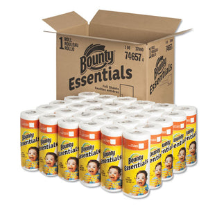 ESPGC74657 - ESSENTIALS PAPER TOWELS, 40 SHEETS-ROLL, 30 ROLLS-CARTON