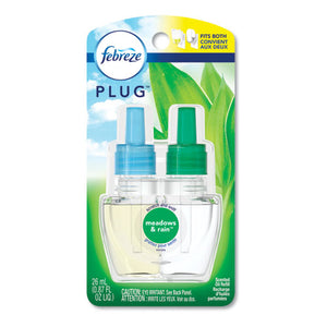 ESPGC74902 - PLUG AIR FRESHENER REFILLS, MEADOWS AND RAIN, 0.87 OZ, 6-CARTON