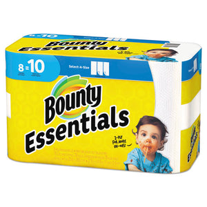 ESPGC75721 - ESSENTIALS SELECT-A-SIZE PAPER TOWELS, 2-PLY, 78 SHEETS-ROLL, 8 ROLLS-CARTON