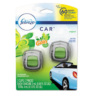 ESPGC94731CT - Car Air Freshener, Gain Original, 2 Ml Clip, 2-pack, 8 Pk-carton