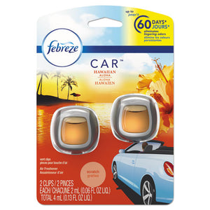 ESPGC94734PK - Car Air Freshener, Hawaiian Aloha, 2 Ml Clip, 2-pack