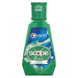 ESPGC95662EA - Crest + Scope Mouth Rinse, Classic Mint, 1 L Bottle