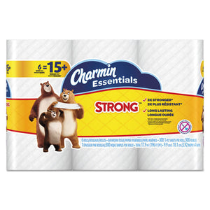 ESPGC96892 - Essentials Strong Bathroom Tissue, 1-Ply, 4 X 3.92, 300-roll, 6 Rl-pk, 8 Pk-ctn