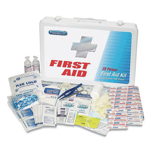 First Aid Kit For Up To 25 People, 125 Pieces