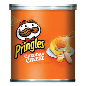 Potato Crisps, Cheddar Cheese, 1.41 Oz Can, 36-box