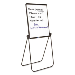 ESQRT101EL - Ultima Presentation Easel, 27 X 34, White Surface, Black Frame