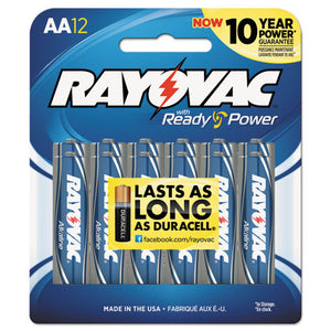 ESRAY81512CF - High Energy Premium Alkaline Battery, Aa, 12-pack