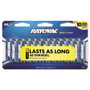 ESRAY81524LTK - High Energy Premium Alkaline Battery, Aa, 24-pack