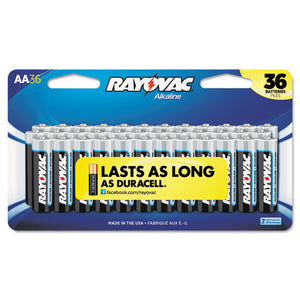 ESRAY81536LK - High Energy Premium Alkaline Battery, Aa, 36-pack