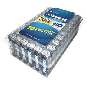 ESRAY81560PPK - Alkaline Battery, Aa, 60-pack