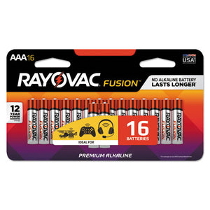 ESRAY82416LTFUSK - Fusion Advanced Alkaline Batteries, Aaa, 16-pack