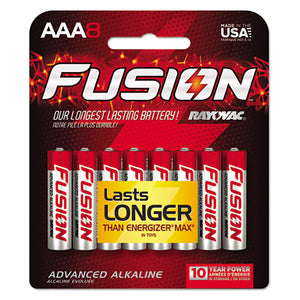 ESRAY8248TFUSK - Fusion Advanced Alkaline Batteries, Aaa, 8-pack