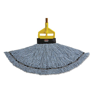 ESRCP1924783 - Maximizer Blended Mop Heads, Medium, Blue, 6-carton