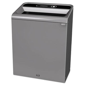 ESRCP1961507 - Configure Indoor Recycling Waste Receptacle, 45 Gal, Gray, Landfill