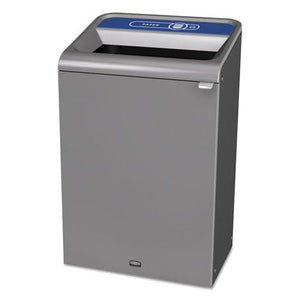 ESRCP1961630 - Configure Indoor Recycling Waste Receptacle, 33 Gal, Gray, Paper