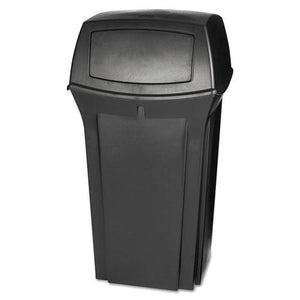 ESRCP843088BLA - Ranger Fire-Safe Container, Square, Structural Foam, 35 Gal, Black