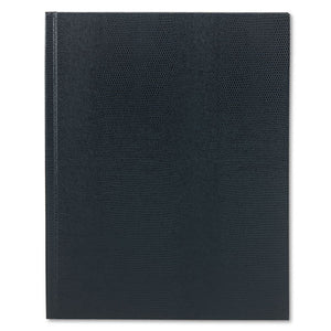 ESREDA1082 - Large Executive Notebook, College-margin, 11 X 8 1-2, Blue Cover, 75 Sheets